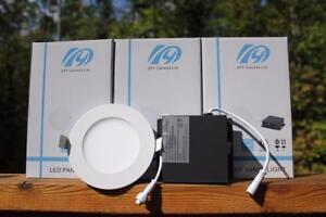 "4""12W&6""led slim panel light /pot light Tax free !Free shipping"