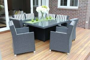 WICKER DINING SETTING,8 SEATS,STUNNING EUROPEAN STYLING,BRAND NEW Chatswood Willoughby Area Preview