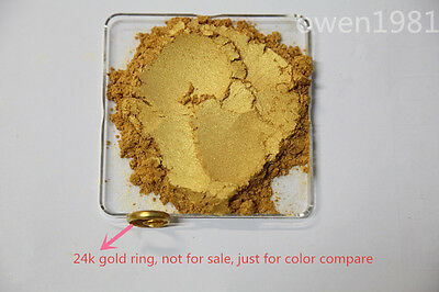 100g(3.53oz) Gold Rush Mica 800 Mesh for Soap Lip Balm Lotion Creams