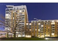 Spacious two bedroom, two bathroom apartment in sought after Canary Riverside with river views