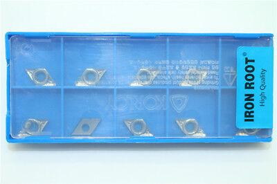 High Quality10p Dcgt070204-ak N11 Cnc Aluminumalloy Turning Carbide Insert