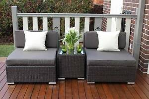 WICKER  OUTDOOR  PATIO SETTING,EUROPEAN STYLED,3 PIECE,BRAND NEW Chatswood Willoughby Area Preview