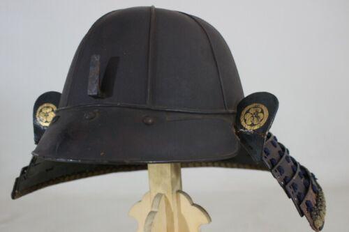 """8 KEN SUJI KABUTO (helmet) of YOROI (armor) : EDO : 14.6 × 14.2 × 9.1 """"  2.17kg"""