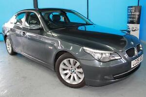 BMW-5-SERIES-520d-SE-2009-Diesel-Manual-in-Grey