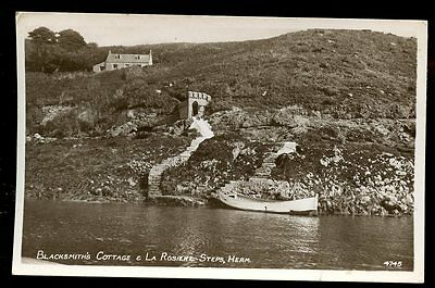 Channel Islands HERM Blacksmith's Cottage 1952 RP PPC
