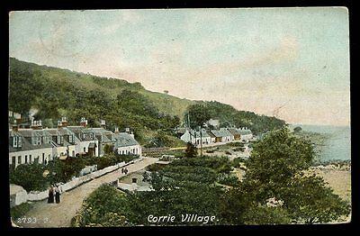 Scotland Buteshire CORRIE Village 1904 PPC