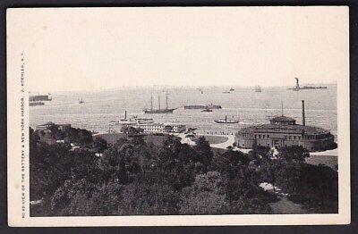 USA NY NEW YORK Harbour Battery c1902 u/b PPC by J Koehler