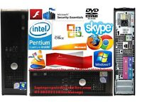 HP/IBM/DELL/ PC DUAL CORE/CORE2DUO/2-4GB RAM DVD-FREE WIFI READY TO USE.price from 25