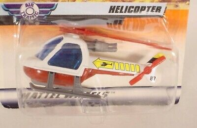 MATCHBOX # 6 WHITE HELICOPTER MB75-D50