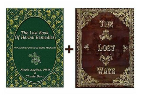 The Lost Ways &The Lost Book of Herbal Remedie by Claude Davis+2 Books⚡P-D-F🔥✅