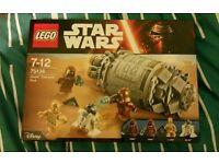 Lego star wars 75136 DROID escape pod.