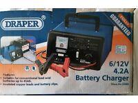 Draper car battery charger