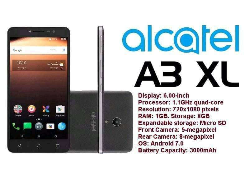 Alcatel A3 XL Big Screen   in Sheffield, South Yorkshire   Gumtree