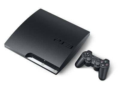 Playstation 3 - Sony PlayStation 3 Slim 120GB Black Console (CECH-2001A)