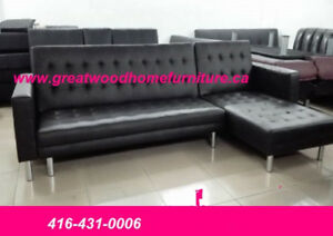 SECTIONAL SOFA BED WITH REVERSIBLE CHAISE389