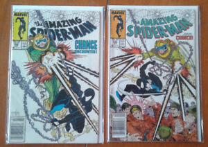 Amazing Spider-Man #298 and #299