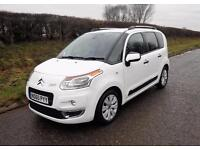 2011 CITROEN C3 PICASSO EXCLUSIVE 1.6 HDi DIESEL 5 DOOR , White, Manual, Diesel