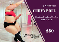 Curvy Pole Dance - 4 Week Series for Plus Sized Babes!