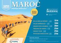 VOYAGE AU MAROC (départs garantis au meilleur prix)