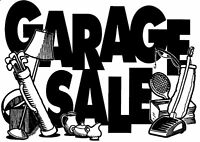 38 years of stuff finally being put in a HUGE GARAGE SALE!!!