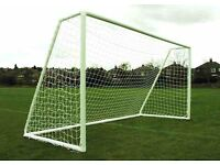 TWO BRAND NEW 12FT X 6FT GOALS not samba