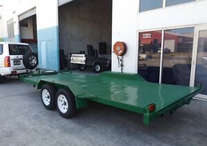 NEW 2.9TON HEAVY DUTY TANDEM CAR CARRIERS 15FT LONG WITH RAMPS! Brisbane North West Preview