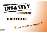 Cours d'Insanity Live à DOMICILE