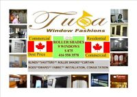 Blinds, Vertical, Roller Shades in Best Quality, Service & Price