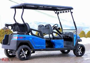 Electric Custom Golf Cart-4 Seat Forward