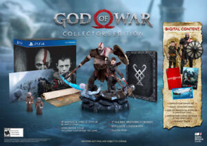 God of War Collectors Edition - $240 - Brand New Sealed -PS4