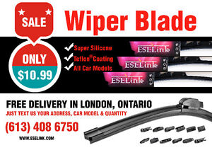 Windshield Wiper Blade+ Free Delivery in London, ON!