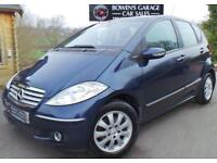 2005 05 MERCEDES-BENZ A CLASS 1.5 A150 ELEGANCE SE 5DR - LOW MILES - 5 SERVICES