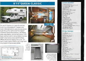 "2010 Northern Lite 8'11"" spezial edition classic series camper"