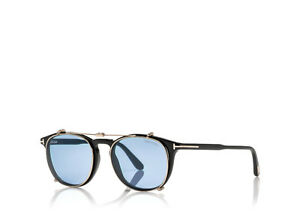 Tom Ford Soft Round Optical with Clip glasses