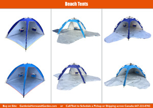 New - Camping Tent Beach Umbrella Shelter Instant/Auto Popup