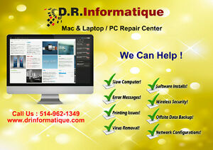 Desktop or Laptop Repair at your location by Certified Professio