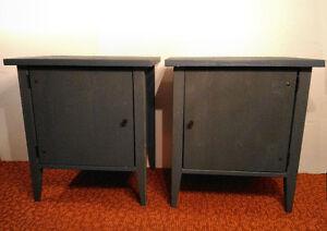 2 tables de chevet Ikea 24 x 21 ½ x 16 pouces