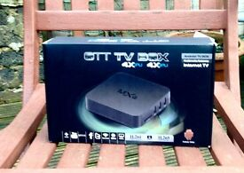 OTT Android TV Box. Multimedia Gateway/internet TV. Free downloading and viewing.