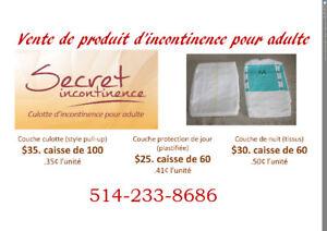 Culottes d'incontinence pour adulte (couche et pull-up) ABDL