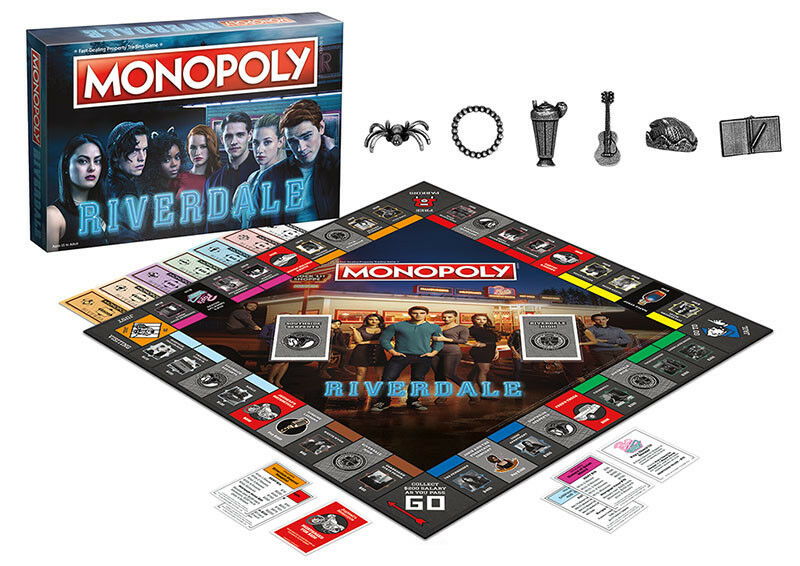 USAopoly MONOPOLY® Call Of Duty, IT, Guardians of The Galaxy, Warhammer  ... Riverdale