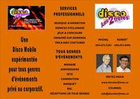 SERVICES DE DISCO-MOBILE POUR FUTURS MARIÉS