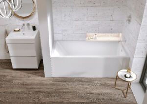MIROLIN AUSTIN TUB on SALE: Square Skirted Tub **FREE DELIVERY