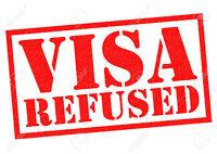 Refused visas, Citizenship, Appeals, Detention