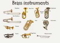 Looking for any damaged or unusable brass instruments