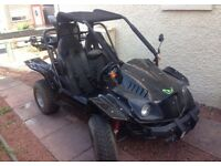 09 plate road legal buggy NEEDS MOT - XT 250 GK-7 RACER (QUAD)