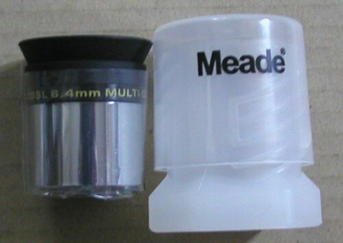 NEW 6.4mm Meade Series 4000 Super Plossl telescope eyepiece