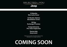 2017 Jeep Renegade 1.6 Multijet Longitude 5dr DDCT Diesel black Automatic