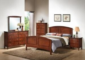 BEDROOM QUEEN FIVE PIECE SET