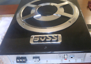 Amplifier with 12 inch subwoofer