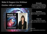 Online class: Make it Happen Series - Manifestation